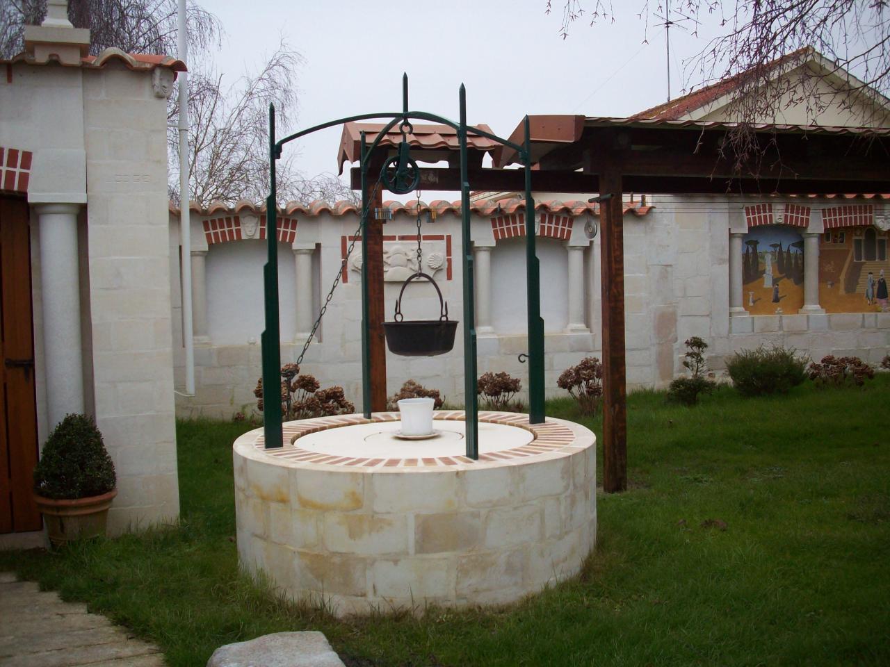 Le puits terminé.