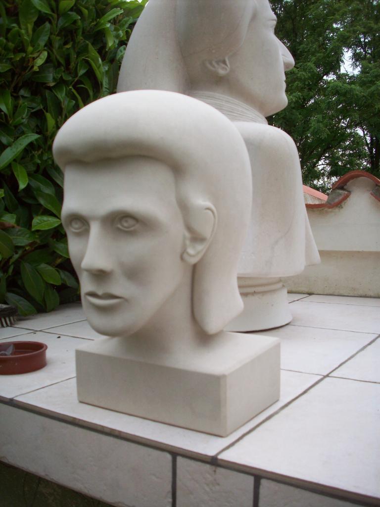 David Bowie au temps de sa jeunesse.