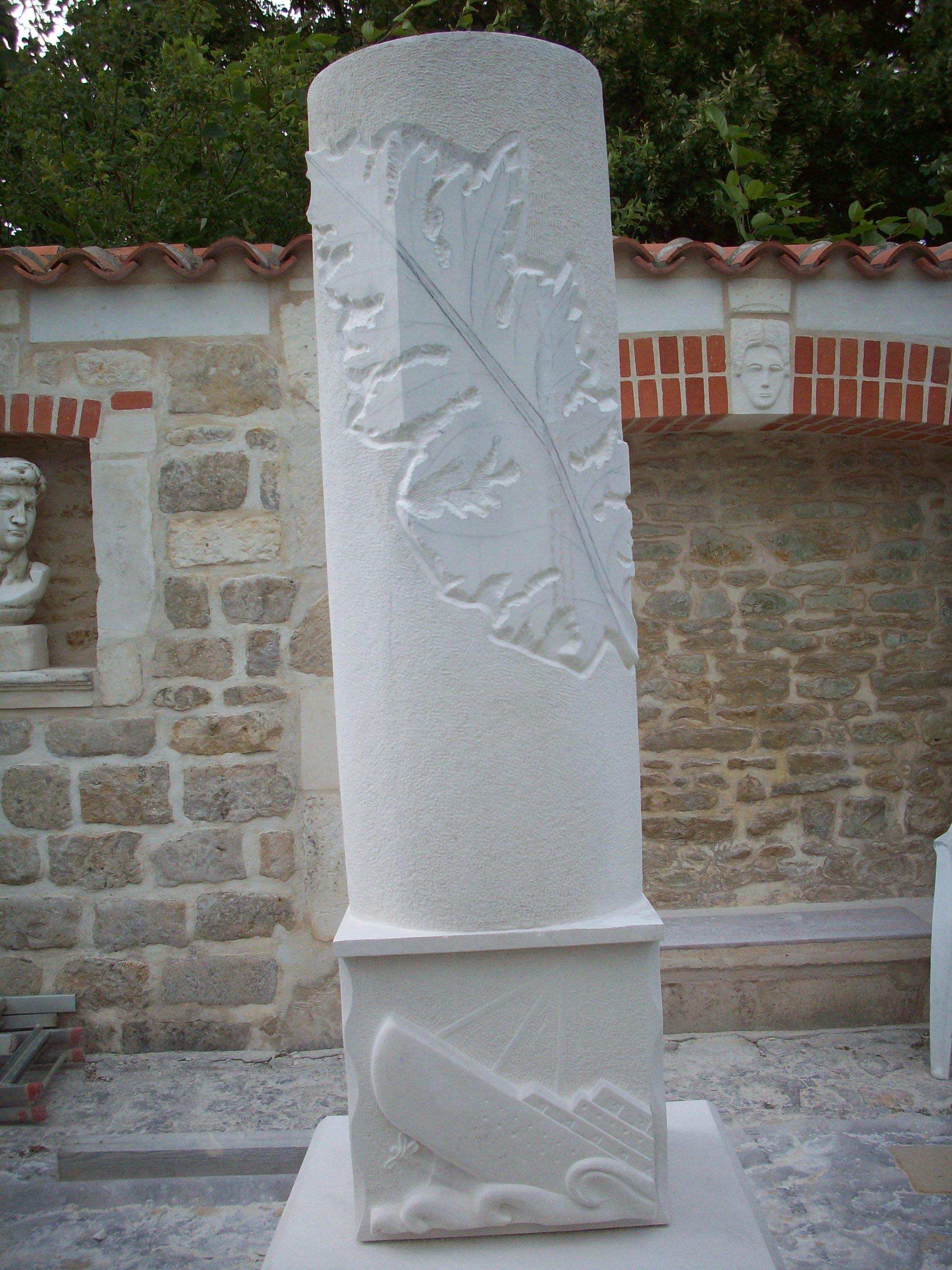 Stèle destinée à NOIRMOUTIER en L'ILE