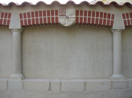 Vue du mur intérieur