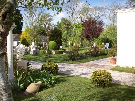 Vue générale du jardin