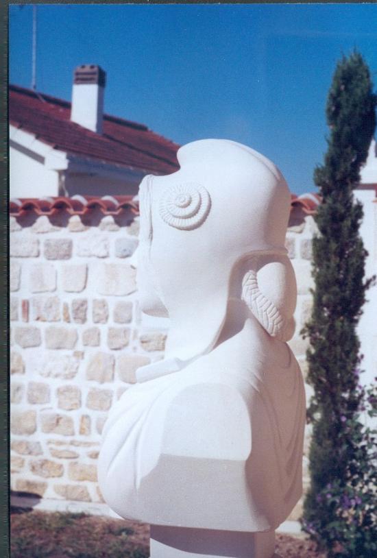 Marianne vue de profil